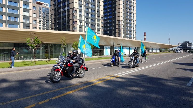 Dmitry Petrukhin headed motovelocross in Almaty
