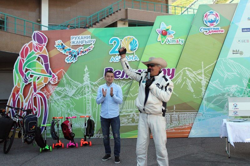 Dmitry Petrukhin headed motovelocross in Almaty